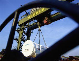 Kunde: BEHALA, Verladung im Westhafen/Berlin - Geschäftsbericht