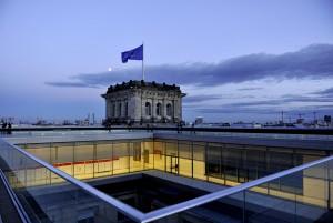 Dachterrasse des Reichstagsgebäudes